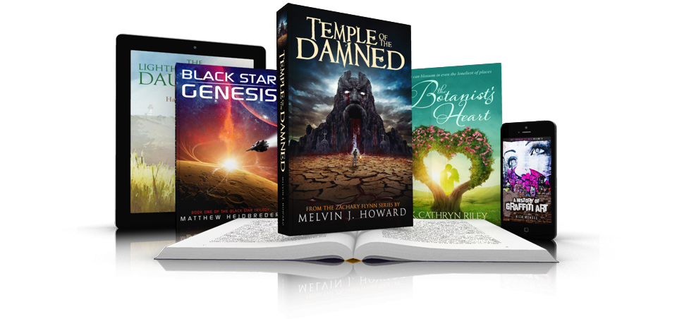 Print and eBook Cover Design with Formatting