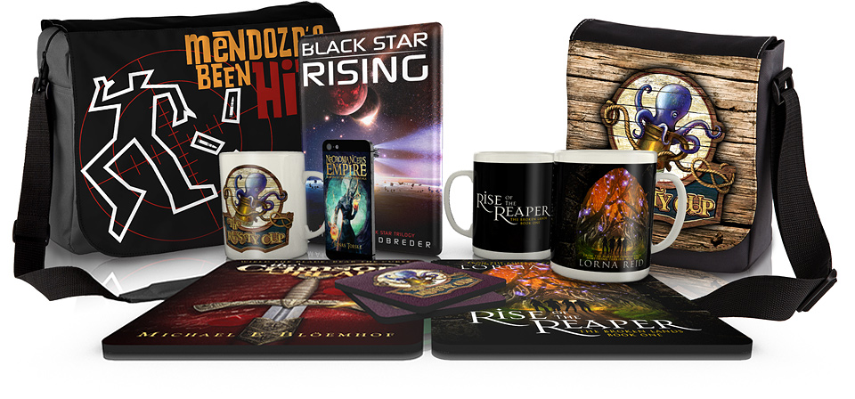 Promotional Merchandise for Authors